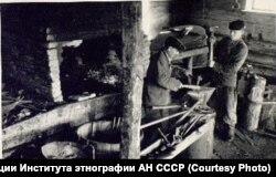 Деревня Алешкино Кежемского района, 1959 год