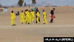 آرشیف، بازی کنان کرکت در افغانستان