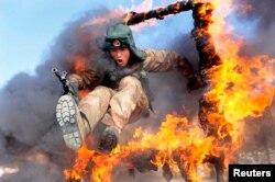 Учения военнослужащих Народно-освободительной армии Китая
