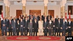 أعضاء الحكومة المصرية