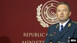 Началникот на Генералштабот на АРМ Горанчо Котески.