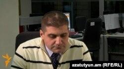 Արման Բաբաջանյանը Ազատություն TV-ի ուղիղ եթերում, Երևան, 13-ը հունվարի, 2014թ.