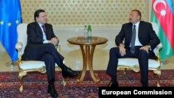 İlham Əliyev və José Manuel Barroso - Foto arxiv