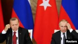 Президенти Росії і Туреччини зустрілися у п'ятницю у Москві