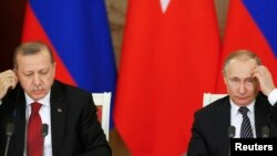 Ռուսաստանի և Թւրքիայի նախագահները, արխիվ