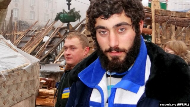 Serzh Nihoyan, an ethnic Armenian Ukrainian who was the first Euromaidan protester killed.