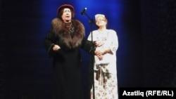 Нәҗибә Ихсанова һәм Әлфия Юнысова