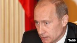 Владимир Путин. Май 2008
