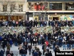 Stockholm, în memoria victimelor atacului de vineri,
