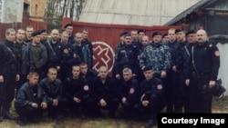 Павел Губарев третий слева в первом ряду
