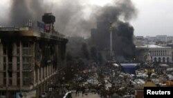 Майдан Незалежності, 20 лютого 2014 року