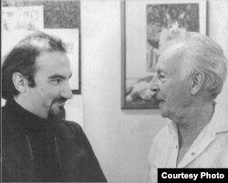 Соломон Волков и Джордж Баланчин. Нью-Йорк. (Фото: Марианна Волкова)