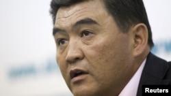 Камчыбек Ташиев, арестованный лидер кыргызской партии «Ата-Журт».