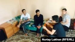 Студенты из Афганистана в общежитии алматинского вуза, 2017 год. Иллюстративное фото
