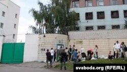 Турма на вуліцы Акрэсьціна