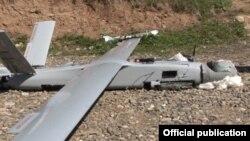 Vurulan Ermənistana məxsus pilotsuz uçuş aparatı 2 apel 2016