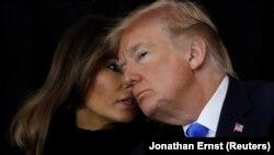 Мэланія і Дональд Трамп.