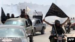 نیروهای جبهه النصره (عکس از آرشیو)