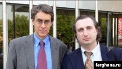 HRW Executive Director Kenneth Roth (left) and banned representative Igor Vorontsov