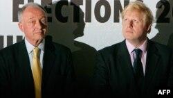 Кевин Ливингстон (слева) и Борис Джонсон - два кандидата на пост мэра Лондона