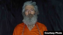 A photograph of missing retired FBI agent Robert Levinson, who disappeared in 2007 on the Iranian island of Kish.
