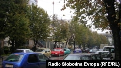 Сообраќаен хаос низ улиците на Куманово