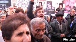 Ընդդիմության ցույցը Հրազդանում: 3-ը դեկտեմբերի, 2010 թ.