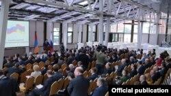 Հայ-ռուսական ռազմարդյունաբերական համաժողով, Մոսկվա, 28-ը ապրիլի, 2017 թ․, լուսանկարը՝ ՊՆ-ի