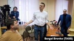 Алексей Навальный в суде Кирова