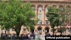Հայաստանի ազգային պոլիտեխնիկական համալսարանի շենքը, արխիվ