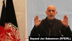 """President Hamid Karzai: """"It is essential and is an irreversible process."""""""