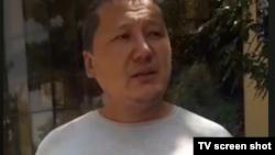 Ҳабибжон Йўлдошев Олмазор ҳокимияти олдида пикетда