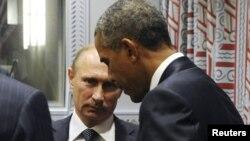 Vladimir Putin və Barack Obama - 28 sentyabr 2015.