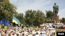 Помнік Тарасу Шаўчэнку ў Кіеве