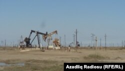 Astara-Shirvan yolunda neft quyuları