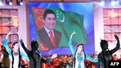 "State media strives to paint a rosy picture of living standards, claiming that Turkmenistan is living in an ""era of greatness and happiness."""
