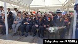 Площадь Победы в Бишкеке. 9 мая, 2017 год.