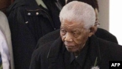 Бывший президент Южно-Африканской Республики Нельсон Мандела.