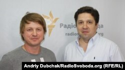 Денис Босянок (ліворуч) і Михайло Герасименко