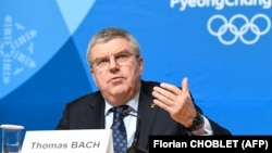 International Olympic Committee (IOC) President Thomas Bach attends a press conference at the Pyeongchang 2018 Winter Olympic Games. FILE PHOTO