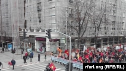 Конфедерацијата на слободни синдикати на Македонија повика на мирен протест за работничките права