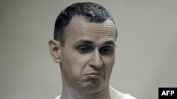 Ukrainian film director Oleh Sentsov has been held in Russia since May 2014. (file photo)