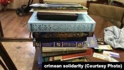 Мусульманская религиозная литература, обнаруженная в ходе обыска