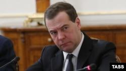 Премьер-министр Российской Федерации Дмитрий Медведев, архивное фото