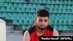 Tajikistan,Dushanbe city, Rahmikhudo Dodikhudoev represent Tajikistan in Rio Paraolympic games,4September2016