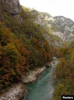 Montenegró – a Tara-kanyon 80 km-es szakasza az ENSZ Világörökség része. A terület 200 km-re északra fekszik a montenegrói fővárostól, Podgoricától.
