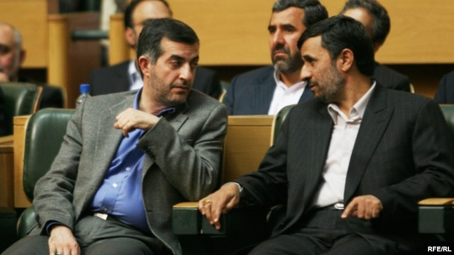 "Has Iranian President Mahmud Ahmadinejad (right) already found his ""Medvedev"" in Vice President Esfandiar Rahim Mashaei?"