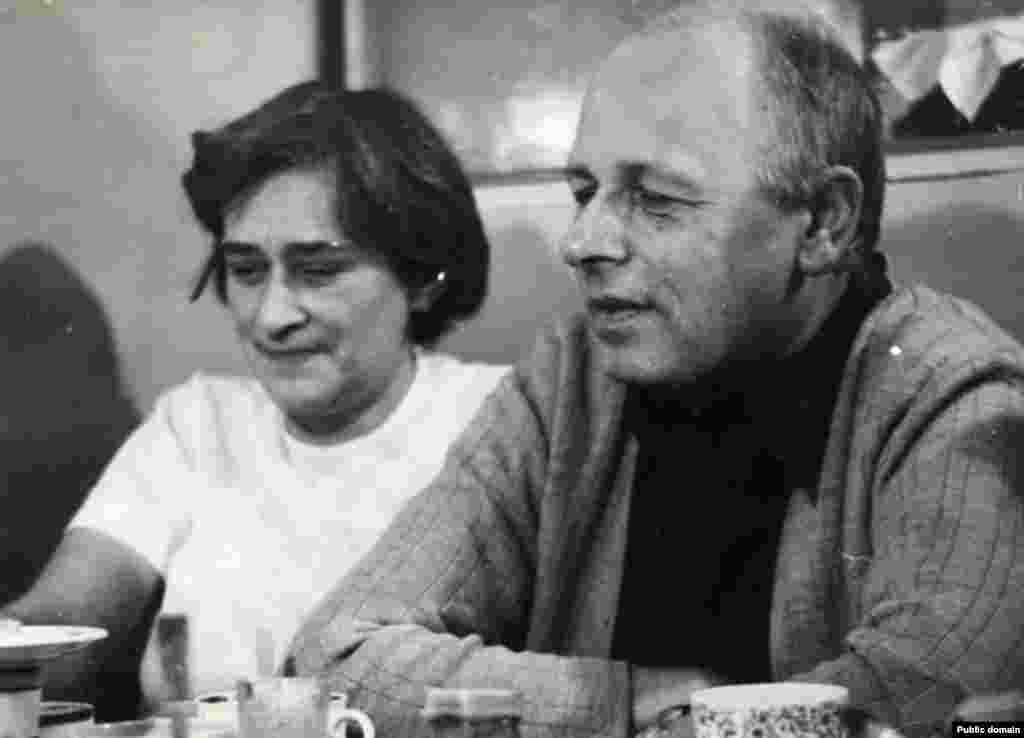 Андрей Сахаров и Елена Боннер, Крым, 1975 г.