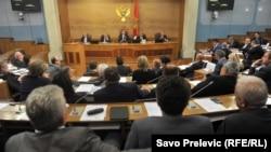 Skupština Crne Gore, 9. maj 2016.