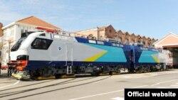 Франциялық Alstom компаниясының Қазақстанға жасап берген электровоздары. (Сурет компанияның сайтынан алынды)